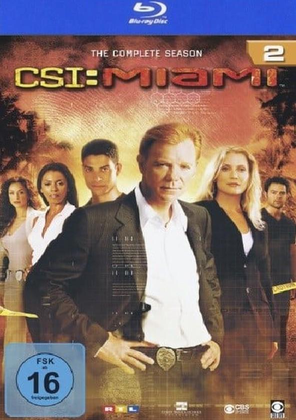CSI: Miami Temporada 2 poster