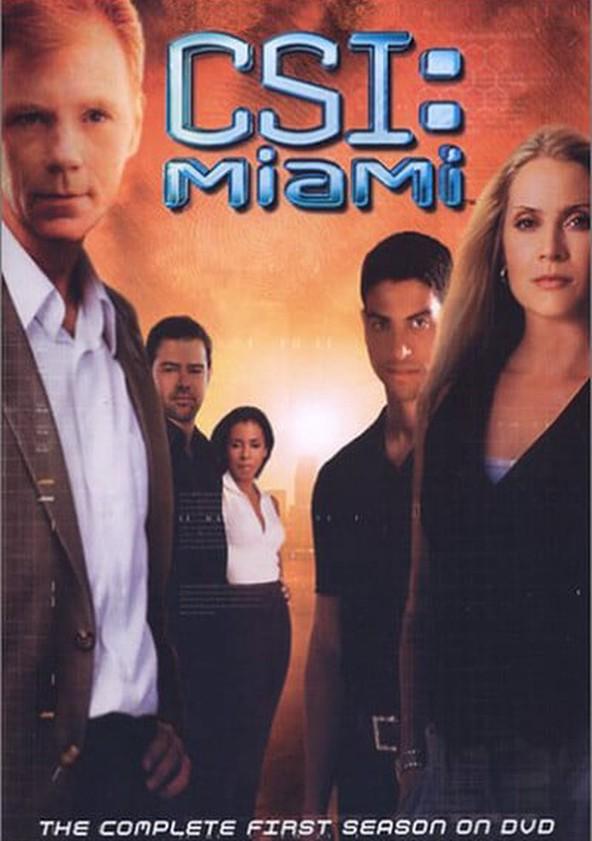 CSI: Miami Temporada 1 poster