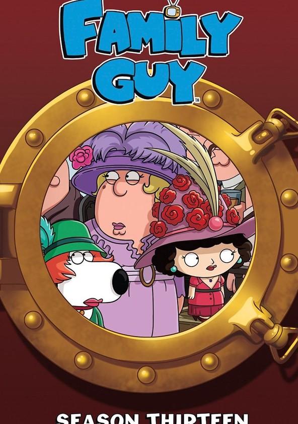 Family Guy Season 13 poster