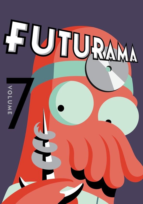 Futurama Season 7 poster
