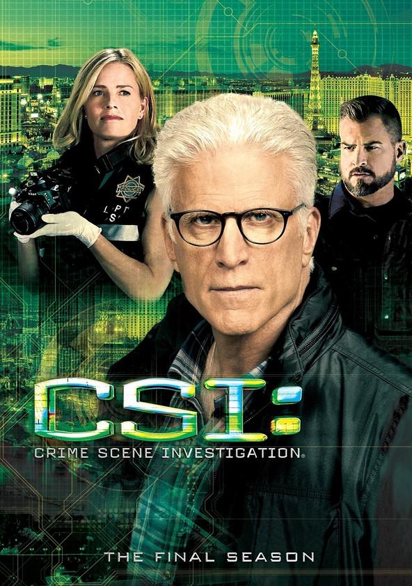 CSI: Crime Scene Investigation Season 15 poster
