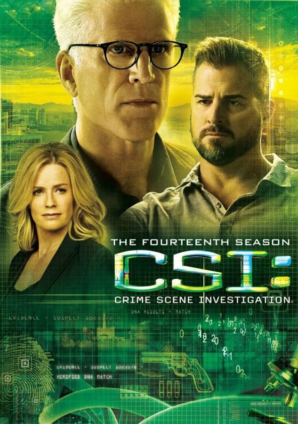 CSI: Crime sob Investigação Temporada 14 poster