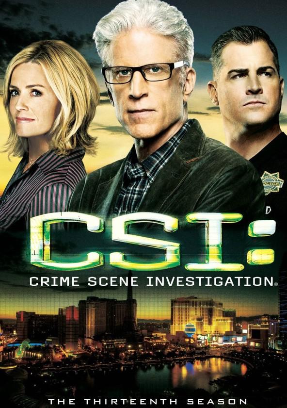 CSI: Crime sob Investigação Temporada 13 poster