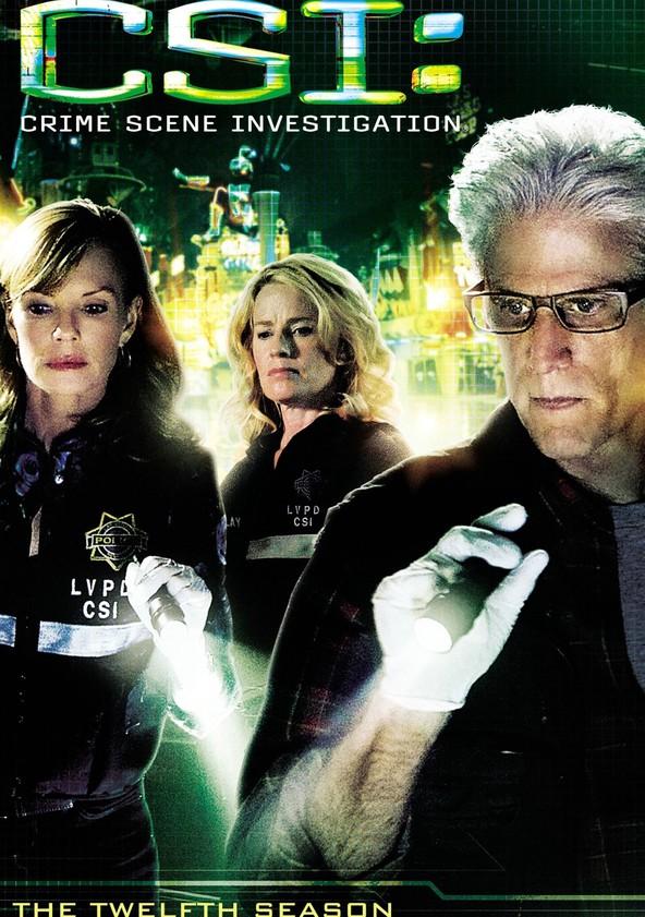 CSI: Crime sob Investigação Temporada 12 poster