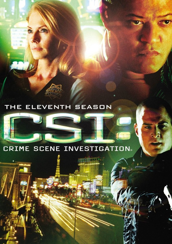 CSI: Crime sob Investigação Temporada 11 poster