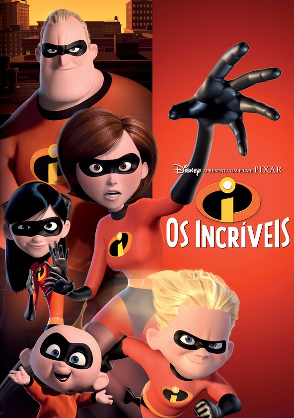 The Incredibles - Os Super Heróis poster