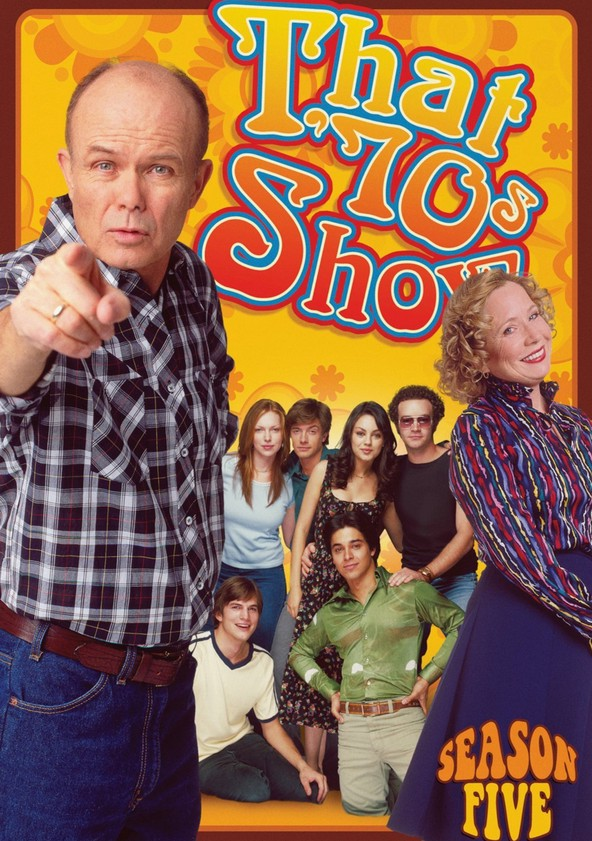 That '70s Show Season 5 poster
