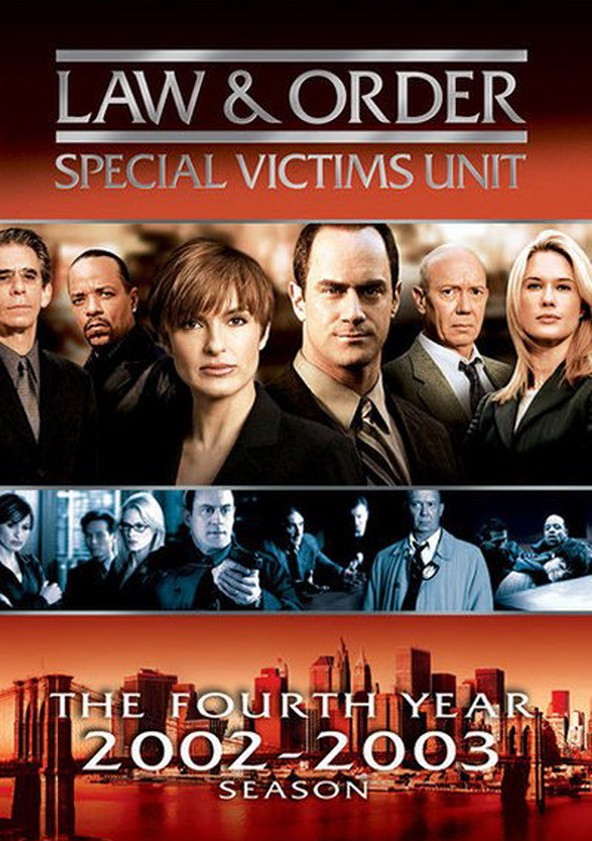 Law & Order: Special Victims Unit Season 4 poster