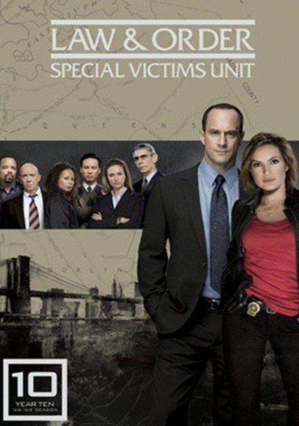 Law & Order: Special Victims Unit Season 10 poster