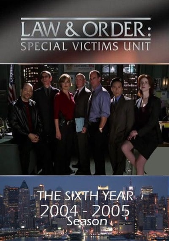Law & Order: Special Victims Unit Season 6 poster