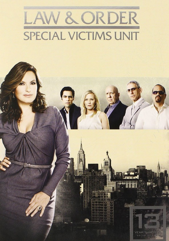 Law & Order: Special Victims Unit Season 13 poster