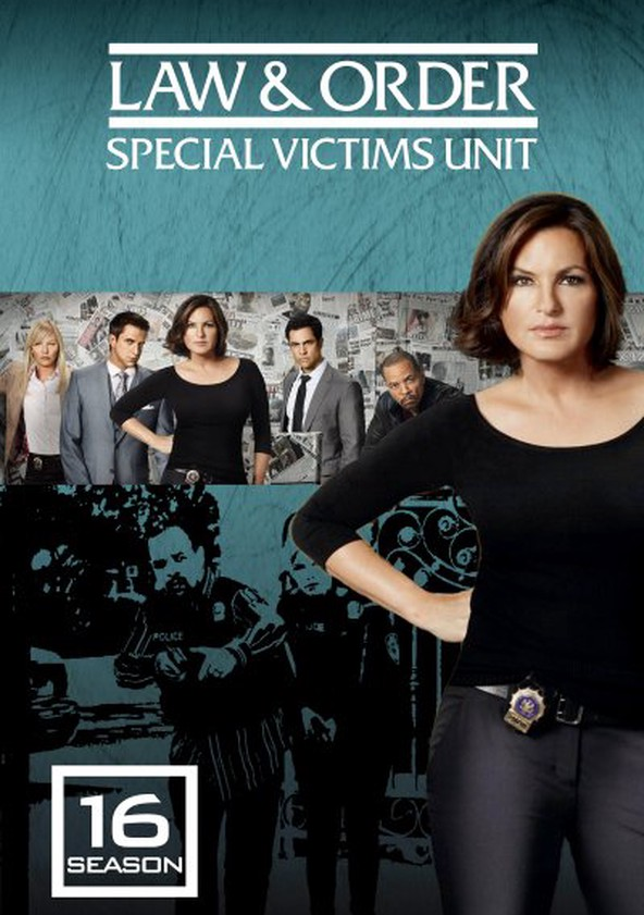 Law & Order: Special Victims Unit Season 16 poster