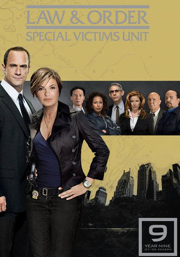 Law & Order: Special Victims Unit Season 9 poster