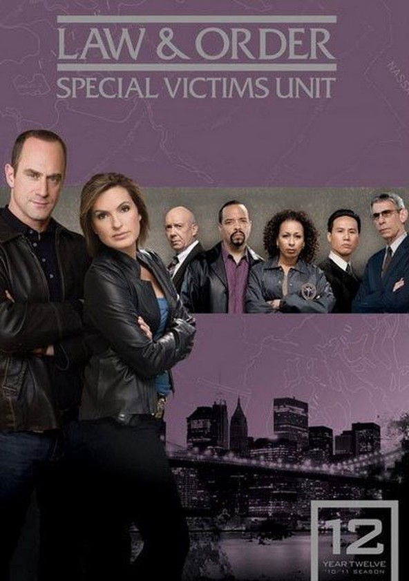 Law & Order: Special Victims Unit Season 12 poster