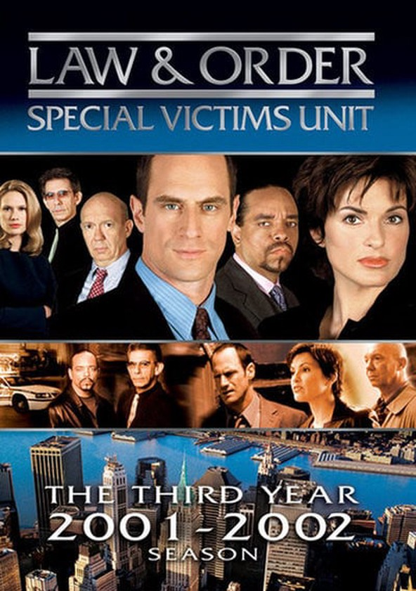 Law & Order: Special Victims Unit Season 3 poster