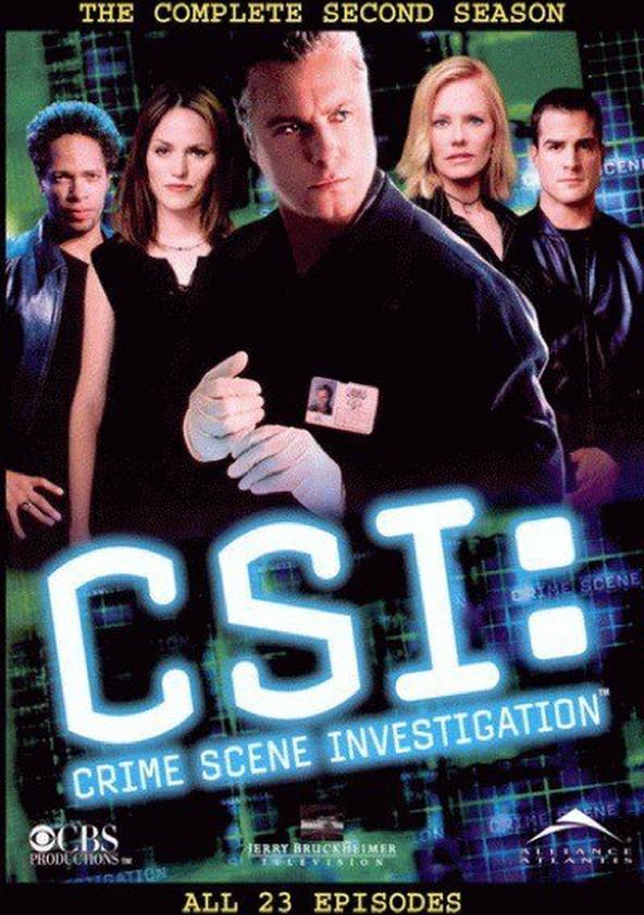CSI: Crime sob Investigação Temporada 2 poster