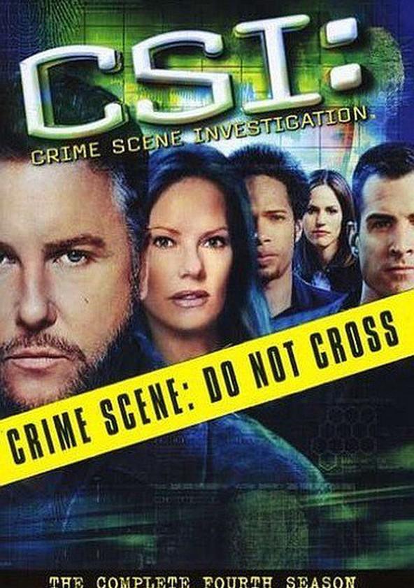 CSI: Crime sob Investigação Temporada 4 poster