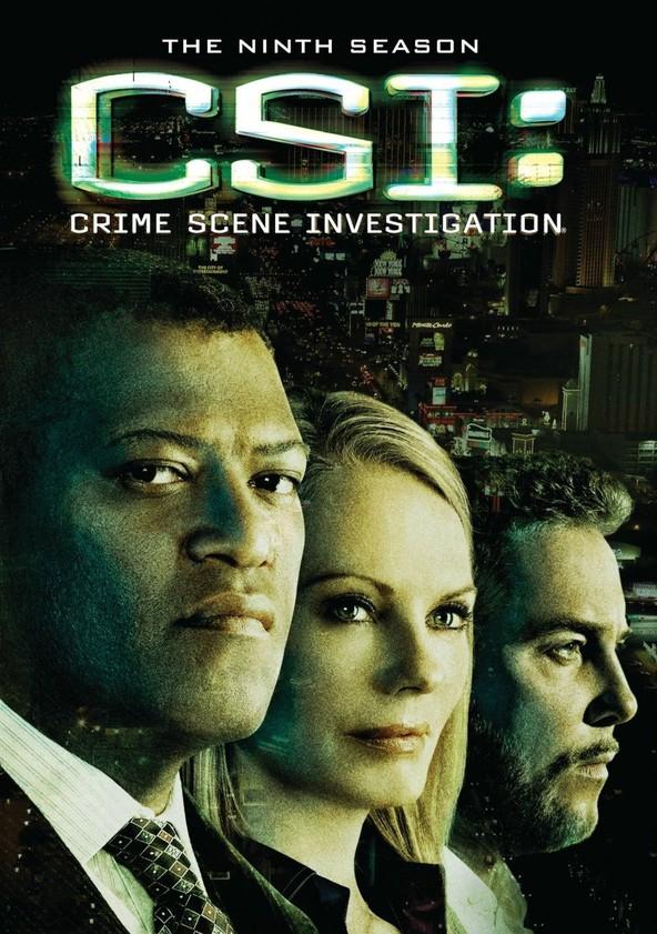 CSI: Crime sob Investigação Temporada 9 poster