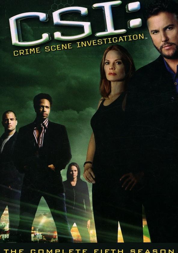 CSI: Crime sob Investigação Temporada 5 poster