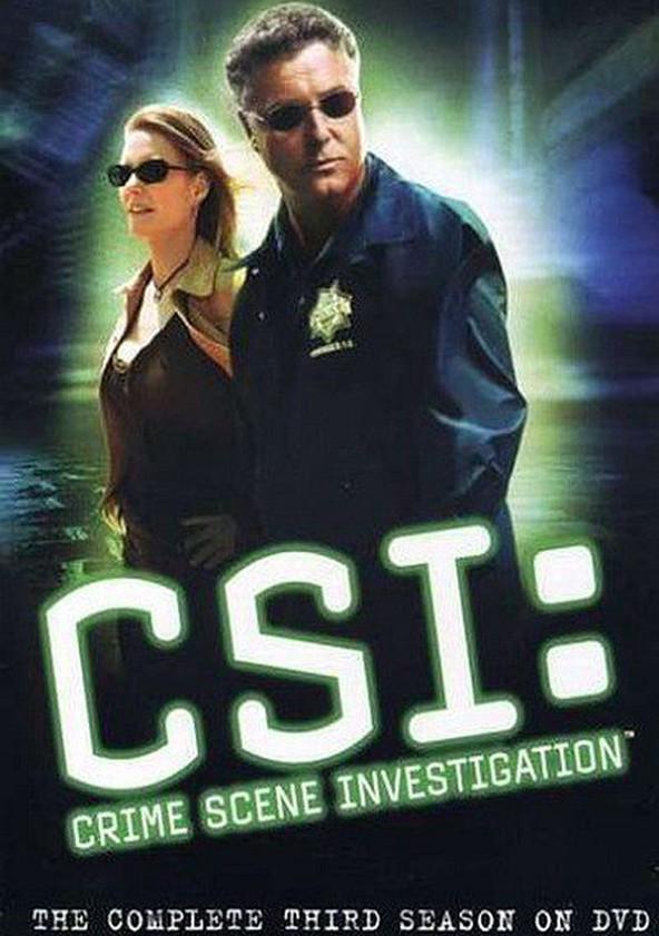 CSI: Crime Scene Investigation Season 3 poster