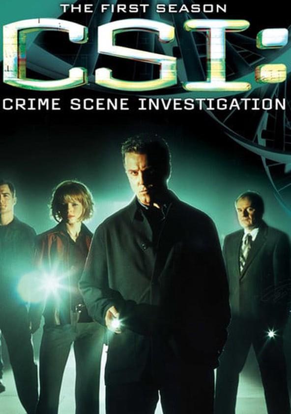 CSI: Crime sob Investigação Temporada 1 poster