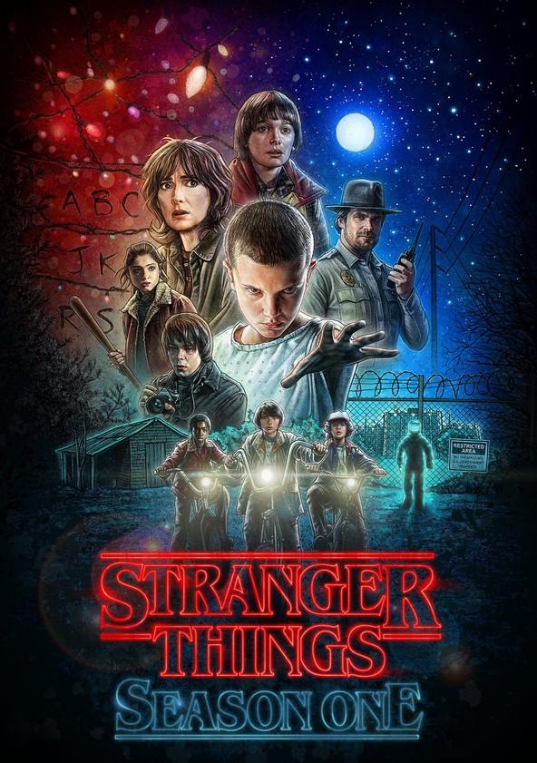 Stranger Things Season 1 poster