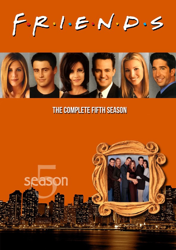 Friends Season 5 poster