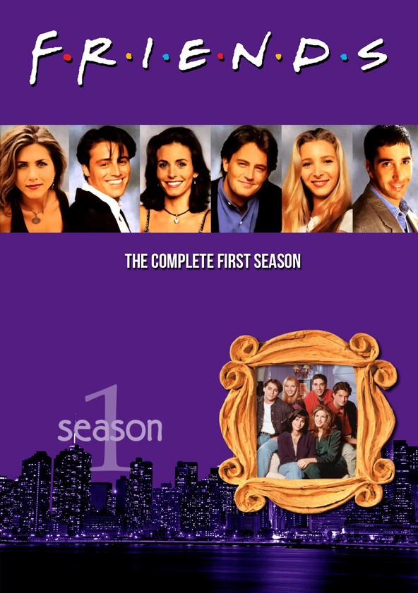 Friends Season 1 poster