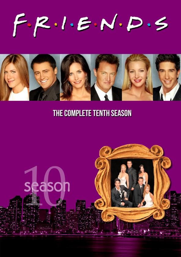 Friends Season 10 poster