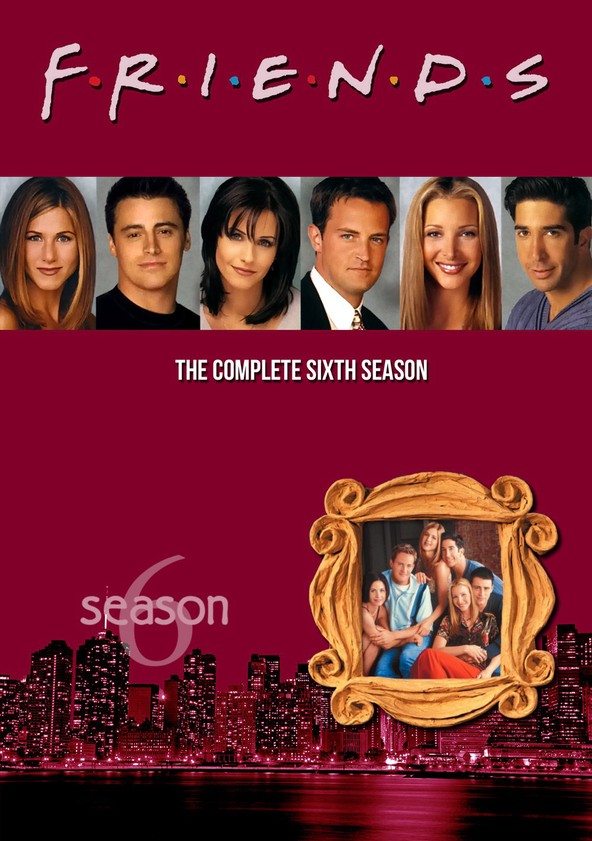 Friends Season 6 poster