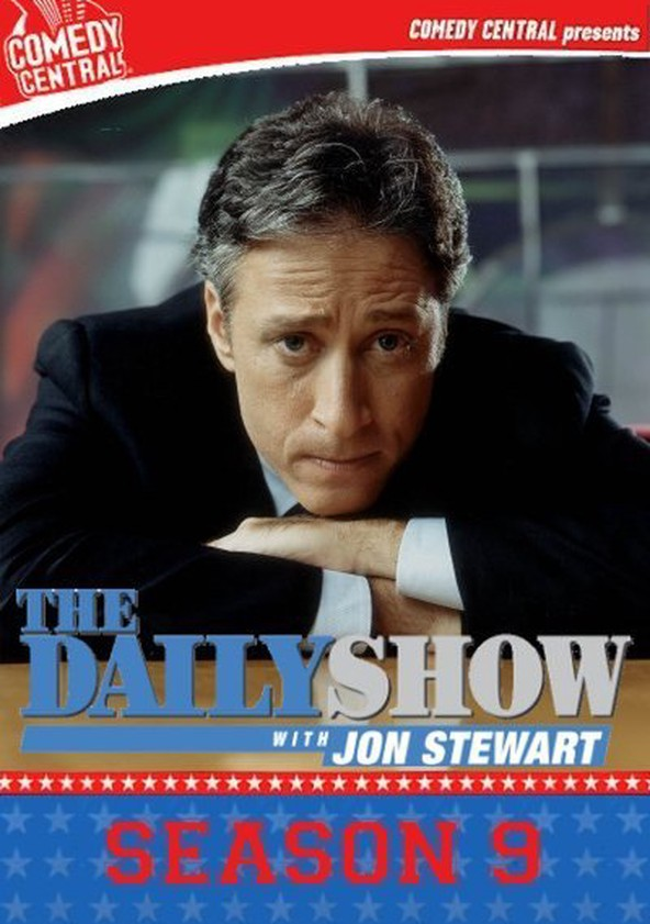 The Daily Show Staffel 9 poster