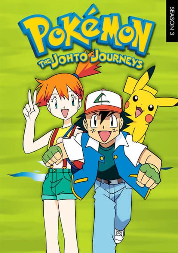 Pokémon The Johto Journeys poster