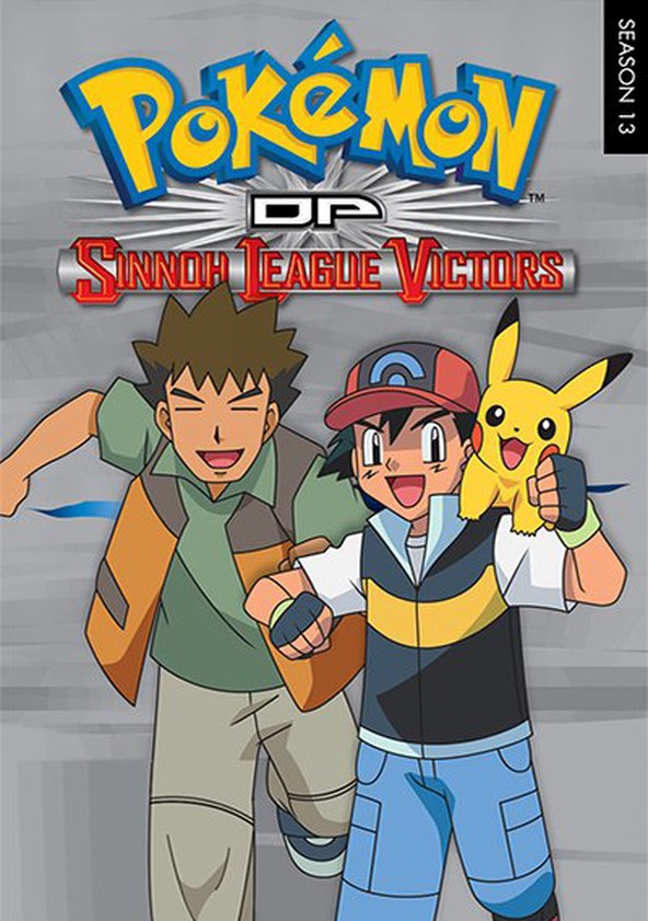 Pokémon Diamond and Pearl: Sinnoh League Victors poster