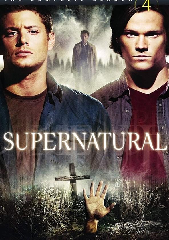 Supernatural Season 4 poster
