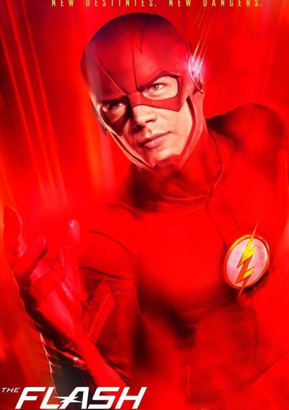 The Flash Temporada 3 poster