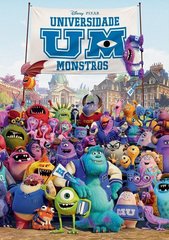 Monstros: A Universidade poster
