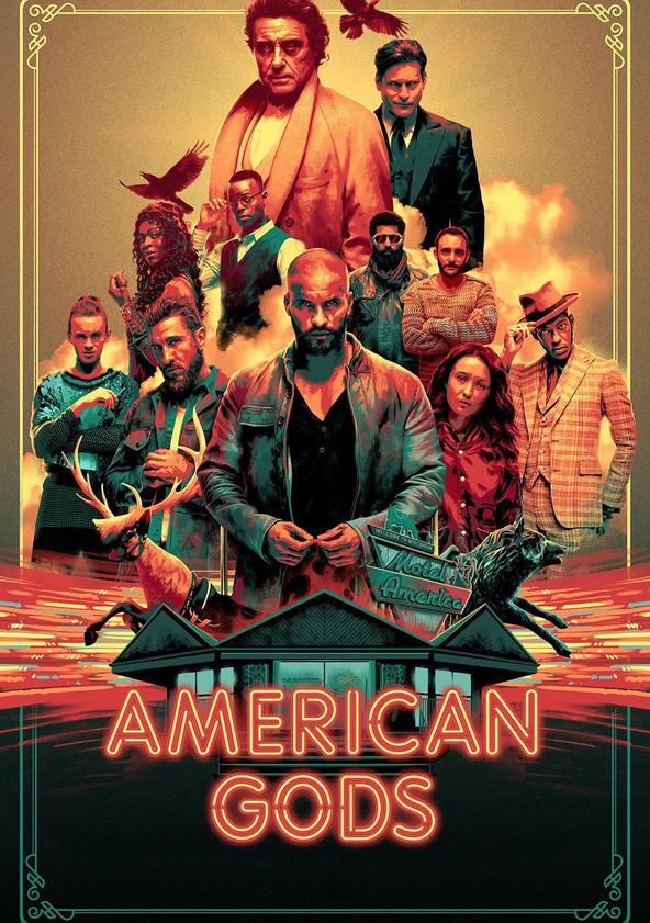 Amerykańscy Bogowie poster