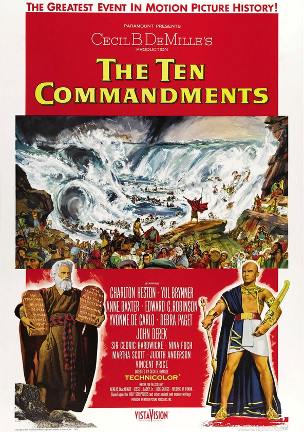 the ten commandments movie watch streaming online