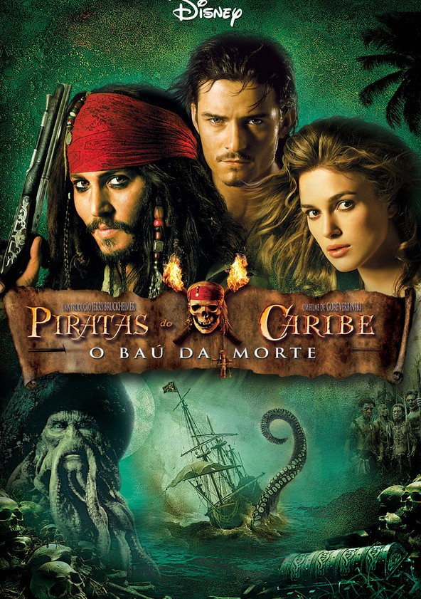 Piratas do Caribe - O Baú da Morte poster