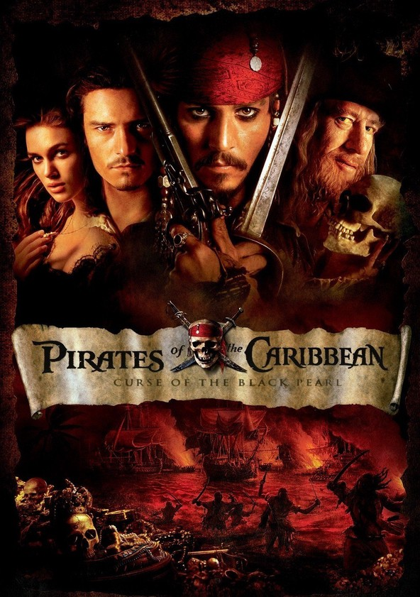 Pirates of the Caribbean: The Curse of the Black Pearl poster