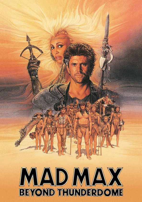 Mad Max Beyond Thunderdome poster