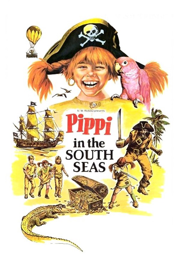 Pippi in the South Seas poster