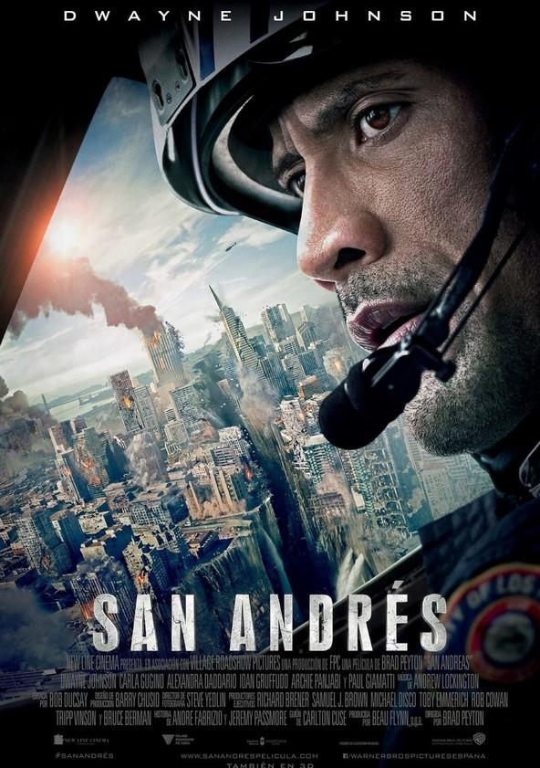 San Andrés poster