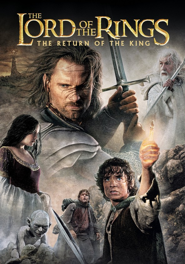 Taru sormusten herrasta: Kuninkaan paluu poster