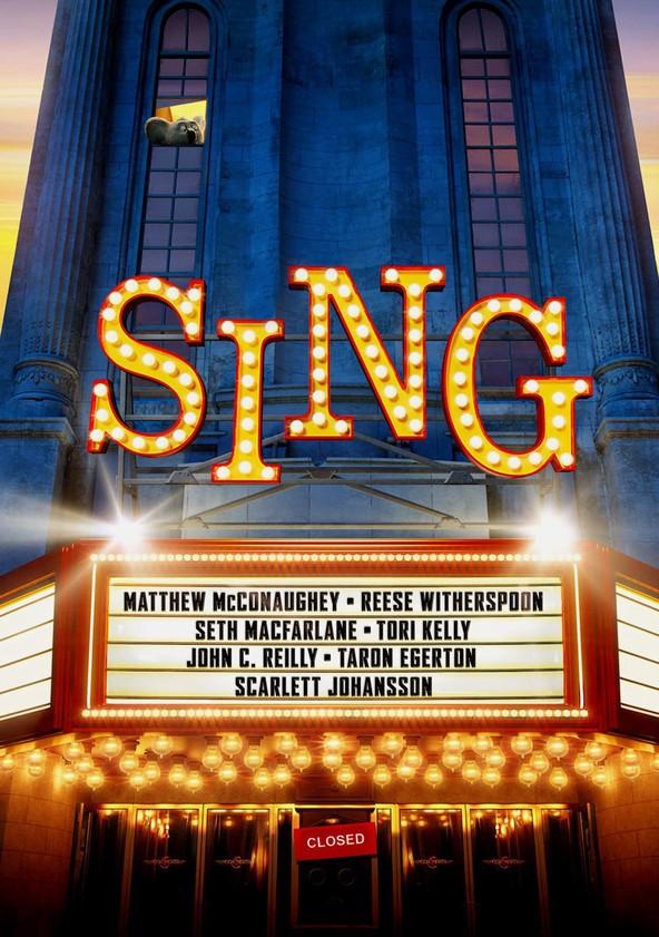 Sing poster
