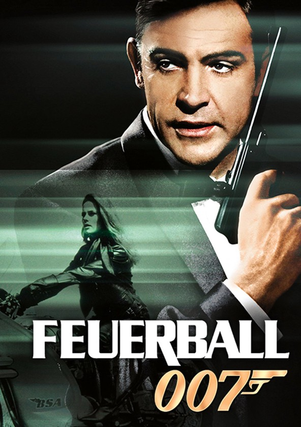 James Bond 007 - Feuerball poster