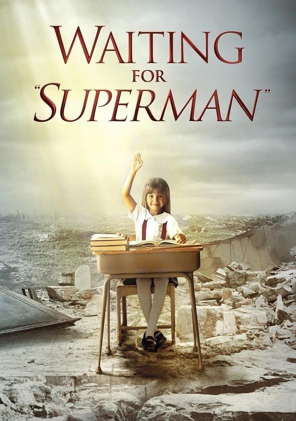 Esperando a Superman poster