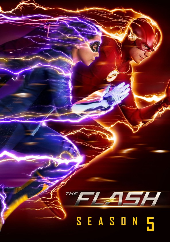 The Flash Staffel 5 poster