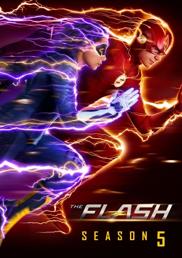 The Flash Temporada 5 poster
