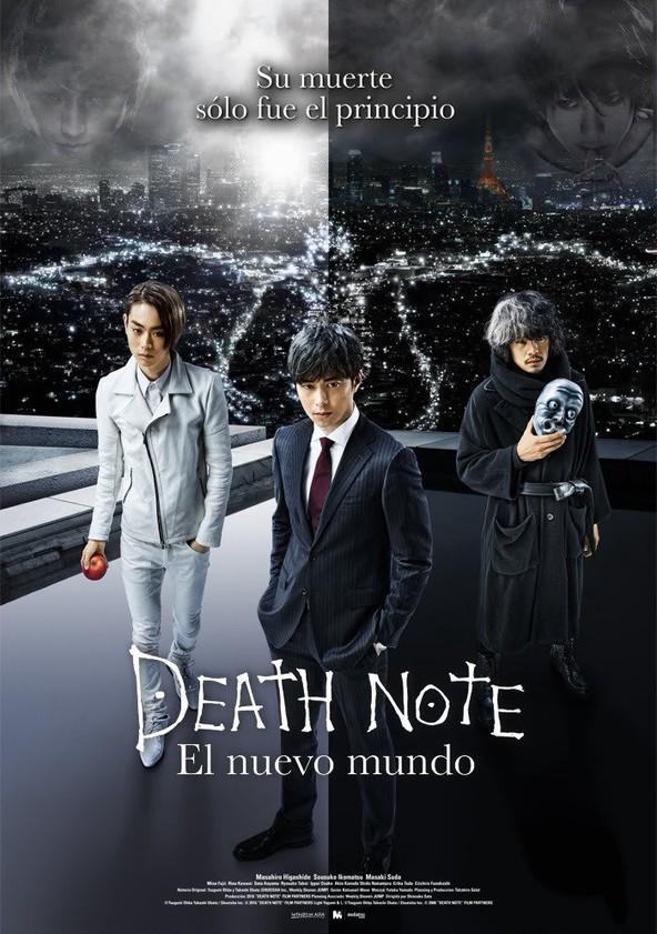 Death Note: El nuevo mundo poster